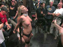 Humiliation in the biker bar